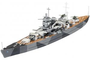 ModelSet loď 65136 - Model Set Battleship Scharnhorst (1:1200)