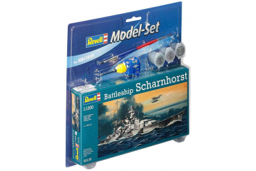 ModelSet loď 65136 - Model Set Battleship Scharnhorst (1:1200)