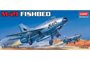Model Kit letadlo 12442 - M-21 FISHBED (1:72)