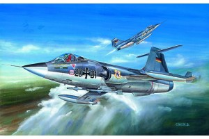 Model Kit letadlo 12443 - F-104G (1:72)