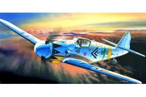 Model Kit letadlo 12454 - MESSERSCHMITT BF109G-14 (1:72)