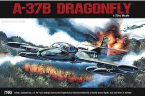 Model Kit letadlo 12461 - A-37B (1:72)