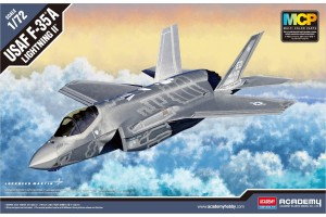 Model Kit letadlo 12507 - F-35A Lightning II MCP (1:72)