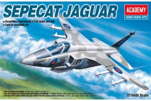 Model Kit letadlo 12606 - SEPECAT JAGUAR (1:144)