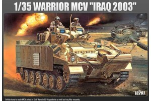 "Model Kit military 13201 - WARRIOR MCV ""IRAQ 2003"" (1:35)"