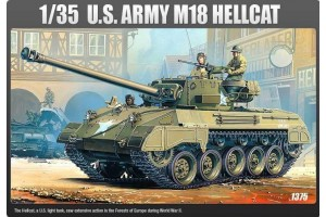 Model Kit tank 13255 - US ARMY M-18 HELLCAT (1:35)