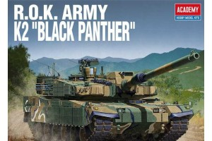 Model Kit tank 13511 - ROK ARMY K2 BLACK PANTHER (1:35)