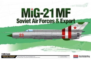 """Mig-21 MF """"Soviet Air Force & Export"""" LE: (1:48) - 12311"""