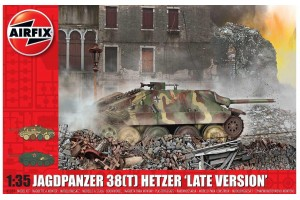 "Classic Kit tank A1353 - JagdPanzer 38 tonne Hetzer ""Late Version"" (1:35)"