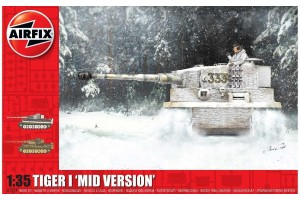 Classic Kit tank A1359 - Tiger-1, Mid Version (1:35)