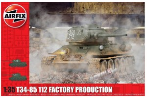 Classic Kit tank A1361 - T34/85 112 Factory Production (1:35)