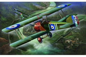 Model Kit letadlo 12109 - SOPWITH CAMEL F-1 (1:32)