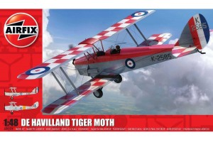 Classic Kit letadlo A04104 - de Havilland D.H.82a Tiger Moth (1:48)