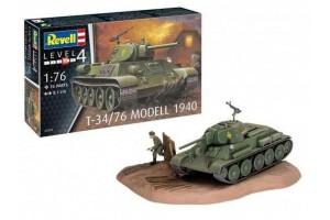 Plastic ModelKit tank 03294 - T-34/76 Modell 1940 (1:76)