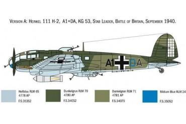 Model Kit letadlo 1436 - HEINKEL HE111H (1:72)