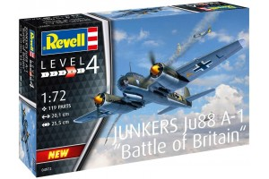 Plastic ModelKit letadlo 04972 - Junkers Ju88 A-1 Battle of Britain (1:72)