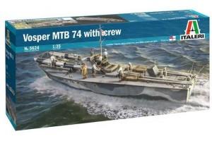 Model Kit loď 5624 - Vosper MTB 74 with crew (1:35)