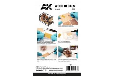 WOOD DECALS (1:72) - AK9084