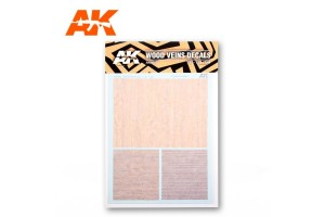 WOOD VEINS DECAL (1:48, 1:35, 1:32) - AK9082