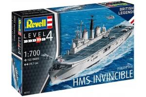 ModelSet loď 65172 - HMS Invincible (Falkland War) (1:700)