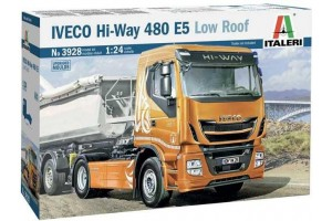 Model Kit truck 3928 - IVECO HI-WAY 490 E5 (Low Roof) (1:24)