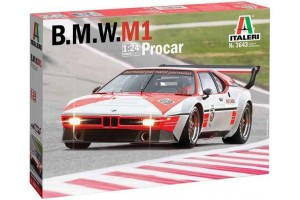Model Kit auto 3643 - BMW M 1 Pro Car (1:24)