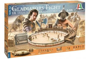 Model Kit diorama 6196 - Gladiators fight (1:72)