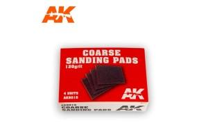 Coarse Sanding Pads 4x120 grit - AK9016