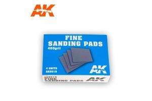 Fine Sanding Pads 4x400 grit - AK9018