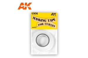 Masking Tape for Curves 6 mm - AK9125
