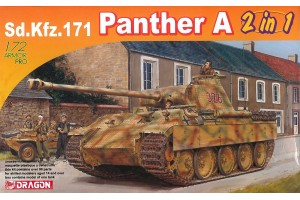 Model Kit tank 7546 - Sd.Kfz.171 Panther A (2 in 1) (1:72)