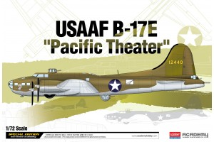 "Model Kit letadlo 12533 - USAAF B-17E ""Pacific Theater"" (1:72)"