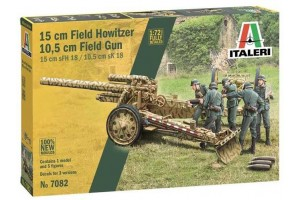 Model Kit military 7082 - 15 cm Field Howitzer / 10,5 cm Field Gun (1:72)