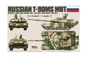T-90MS RUSSIAN MAIN BATTLE TANK (1:35) - 4612