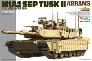 Abrams M1A2 Tusk II MBT (1:72) - 9601