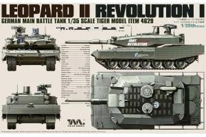 German Main Battle Tank Leopard II Revolution I (1:35) - 4629