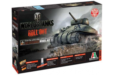 Model Kit World of Tanks 36503 - M4 SHERMAN (1:35)