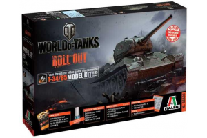 Model Kit World of Tanks 36509 - T-34/85 (1:35)
