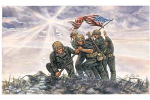 IWO JIMA FLAG RAISERS (1:72) - 6098