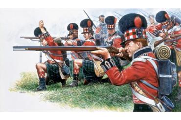 NAPOLEON WARS: HIGHLANDER INFANTRY (1815) (1:72) - 6004