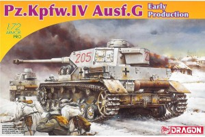 Model Kit tank 7278 - Pz.Kpfw.IV Ausf.G EARLY PRODUCTION (1:72)