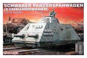 Model Kit military 6071 - SCHWERER PANZERSPAHWAGEN (KOMMANDOWAGEN) (1:35)