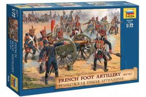 Wargames (AoB) figurky 8028 - French Foot Artillery 1812-1814 (1:72)
