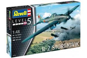 Plastic ModelKit letadlo 03932 - IL-2 Stormovik (1:48)