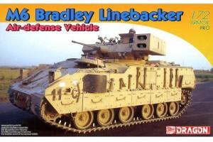 Model Kit military 7624 - M6 Bradley Linebacker Air-defense Vehicle (1:72)