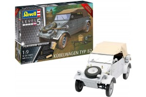 Plastic ModelKit military Limited Edition 03500 - Kübelwagen Typ 82 Platinum Edition (1:9)