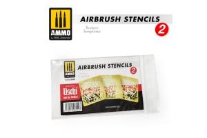 Airbrush šablony 2 (AIRBRUSH STENCILS 2) - 8049