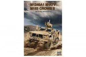M1240A1 M-ATV (M153 CROWS II ) with full interior (1:35) - 5052