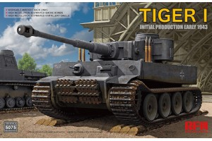 TIGER 1 INITIAL PRODUCTION EARLY 1943 (1:35) - 5075
