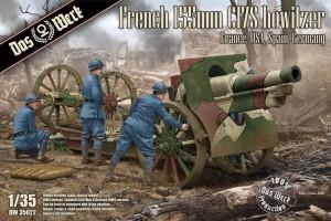 French Schneider 155mm C17S howitzer (1:35) - 35022